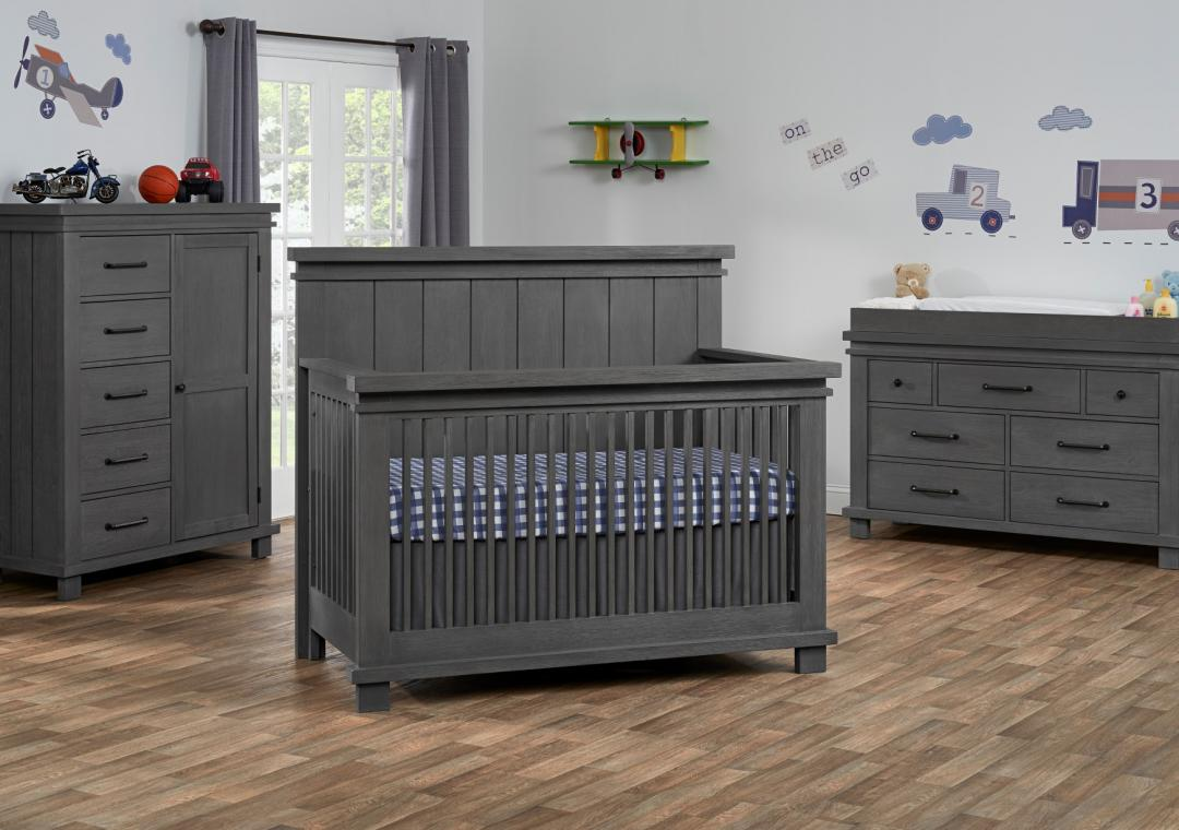 gray nursery furniture. Hampton - Canyon Gray Nursery Furniture