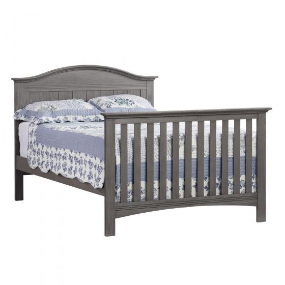 4 In 1 Convertible Crib Hampton Canyon Gray Soho Baby